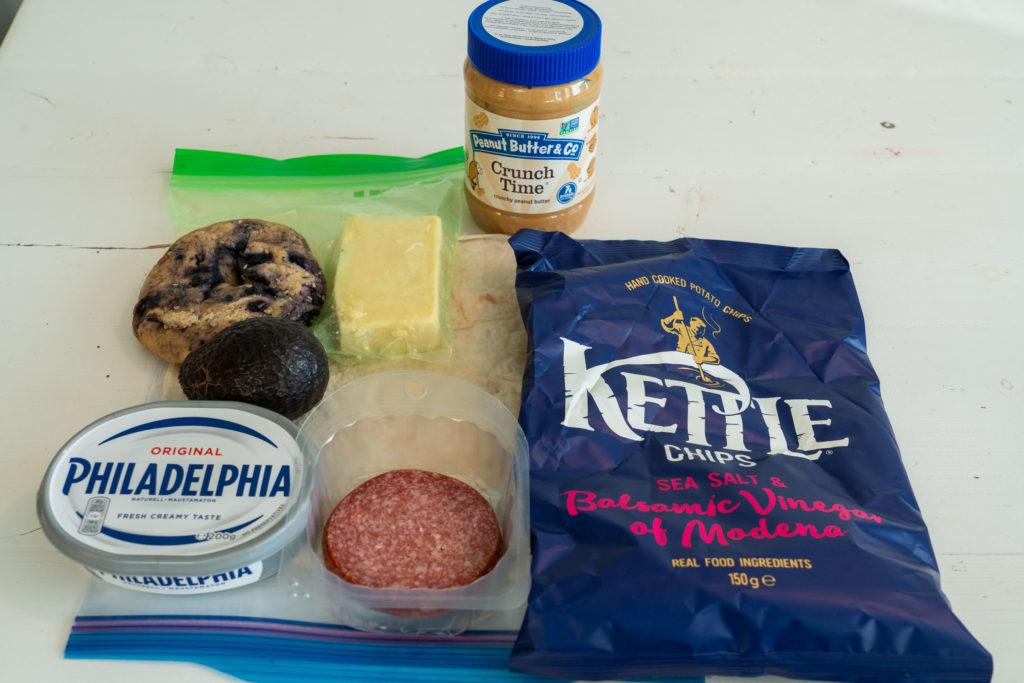 Appalachian Trail Food List