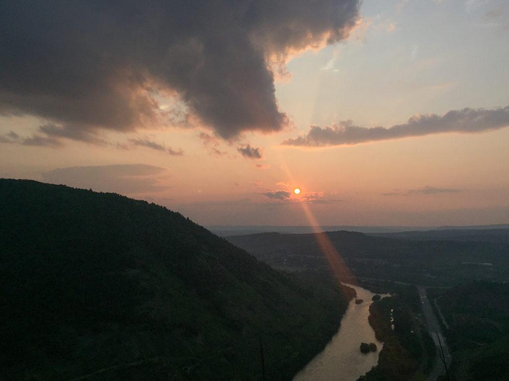 appalachian trail sunset