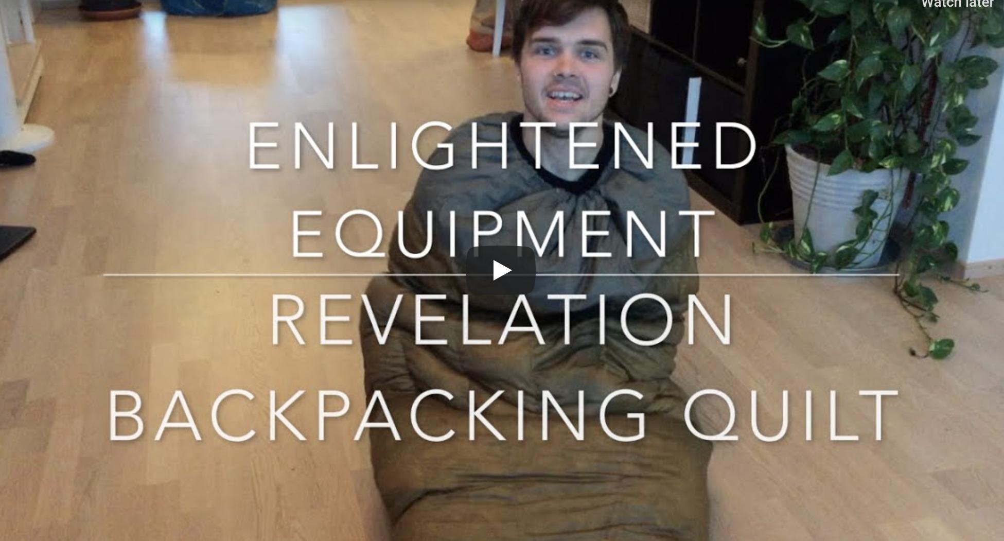 Enlightened Equipment Revelation – Ultralight Backpacking Quilt Review