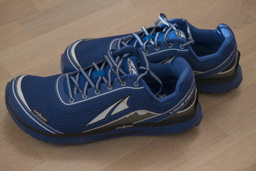 blue altra lone peak running shoes