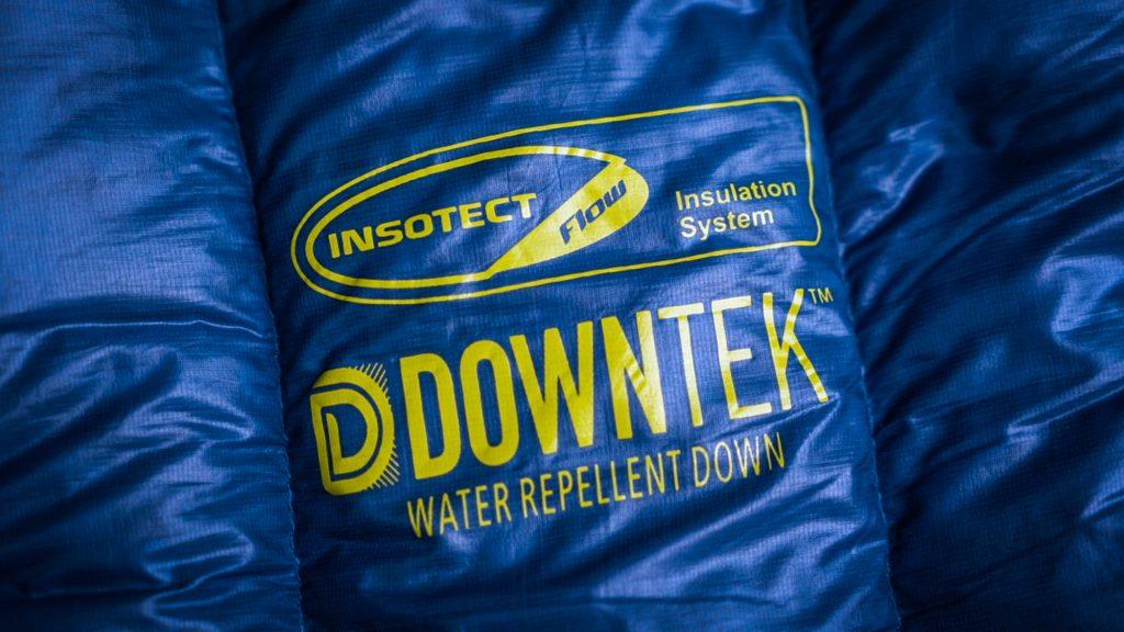 downtek water repellent down