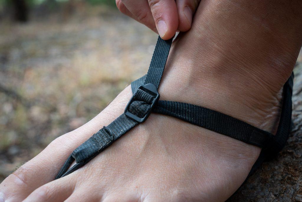 strap adjustment on bedrock classics