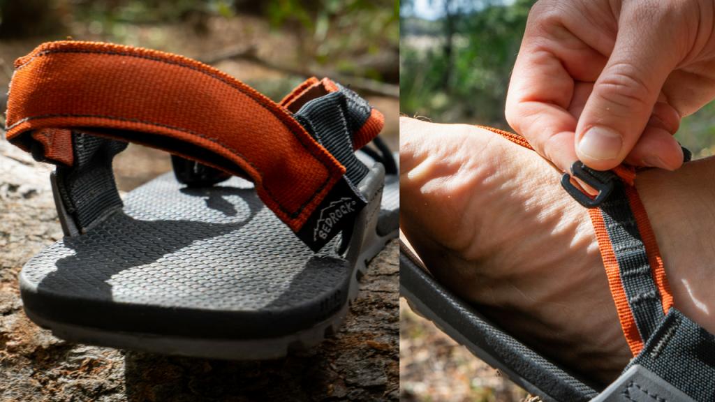 adjustment points on bedrock cairn pro sandals