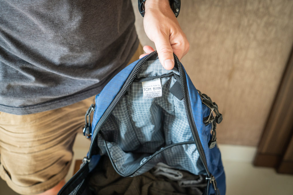 stretch pocket inside synapse 25 backpack