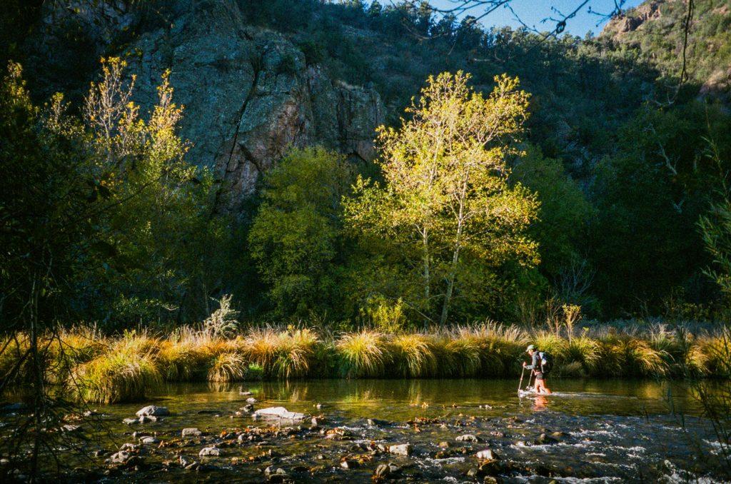 crossing the Gila river