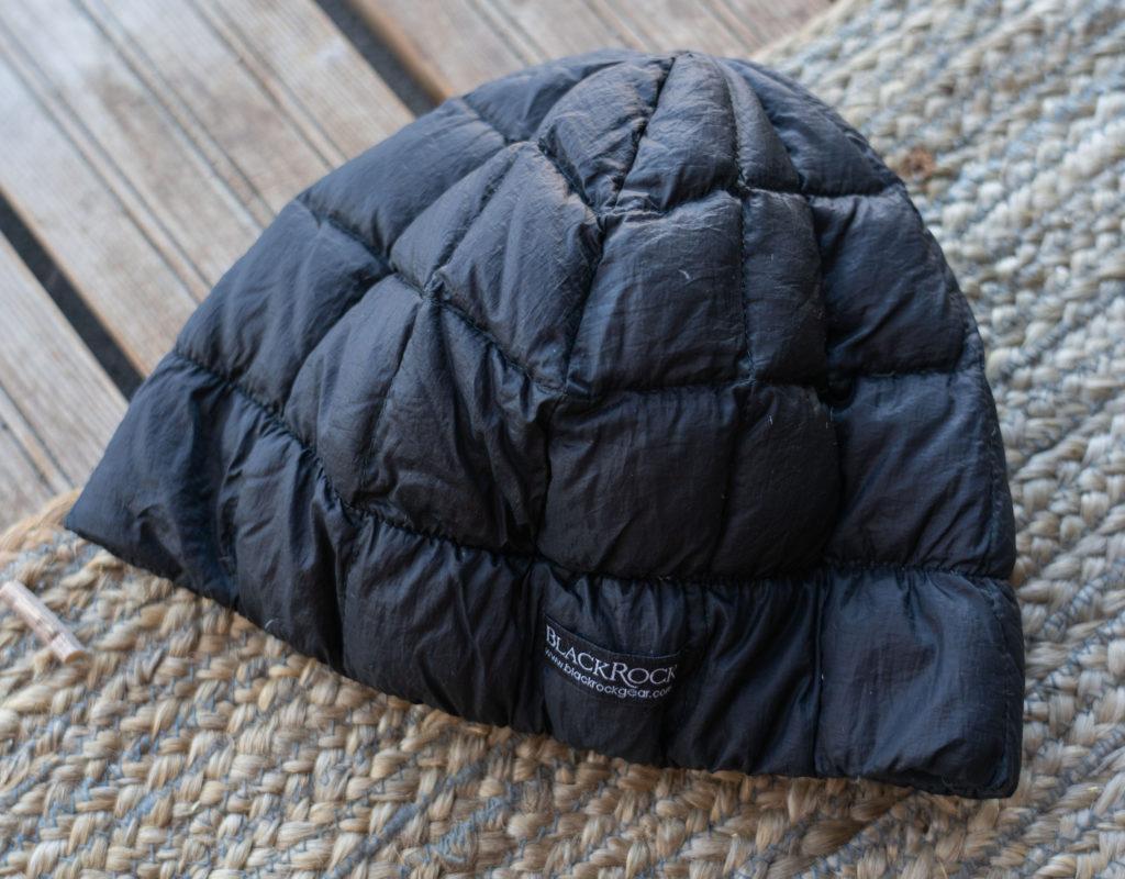 the original down hat from blackrock gear