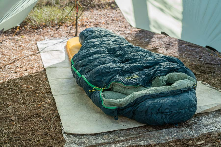 tyvek and polycro great lightweight backpacking gear on a budget