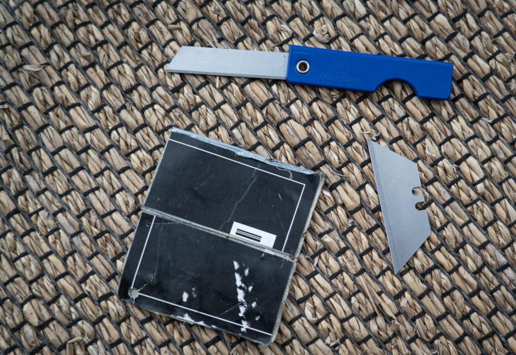 razor blades for ultralight backpacking