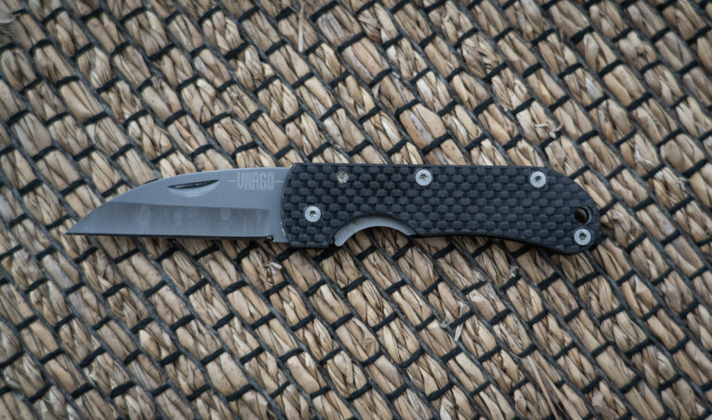 Vargo Ti-Carbon Folding Knife