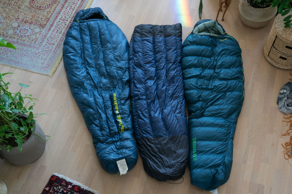 quilts and sleeping bags for ultralight backpacking