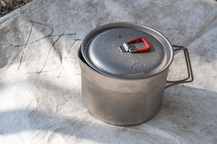 msr titan kettle part of my ultralight backpacking cooking gear