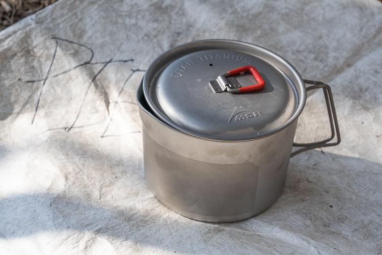 msr titan kettle part of my ultralight backpacking cooking gear