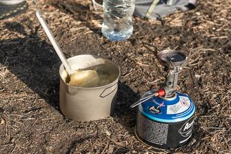 my ultralight backpacking cooking gear