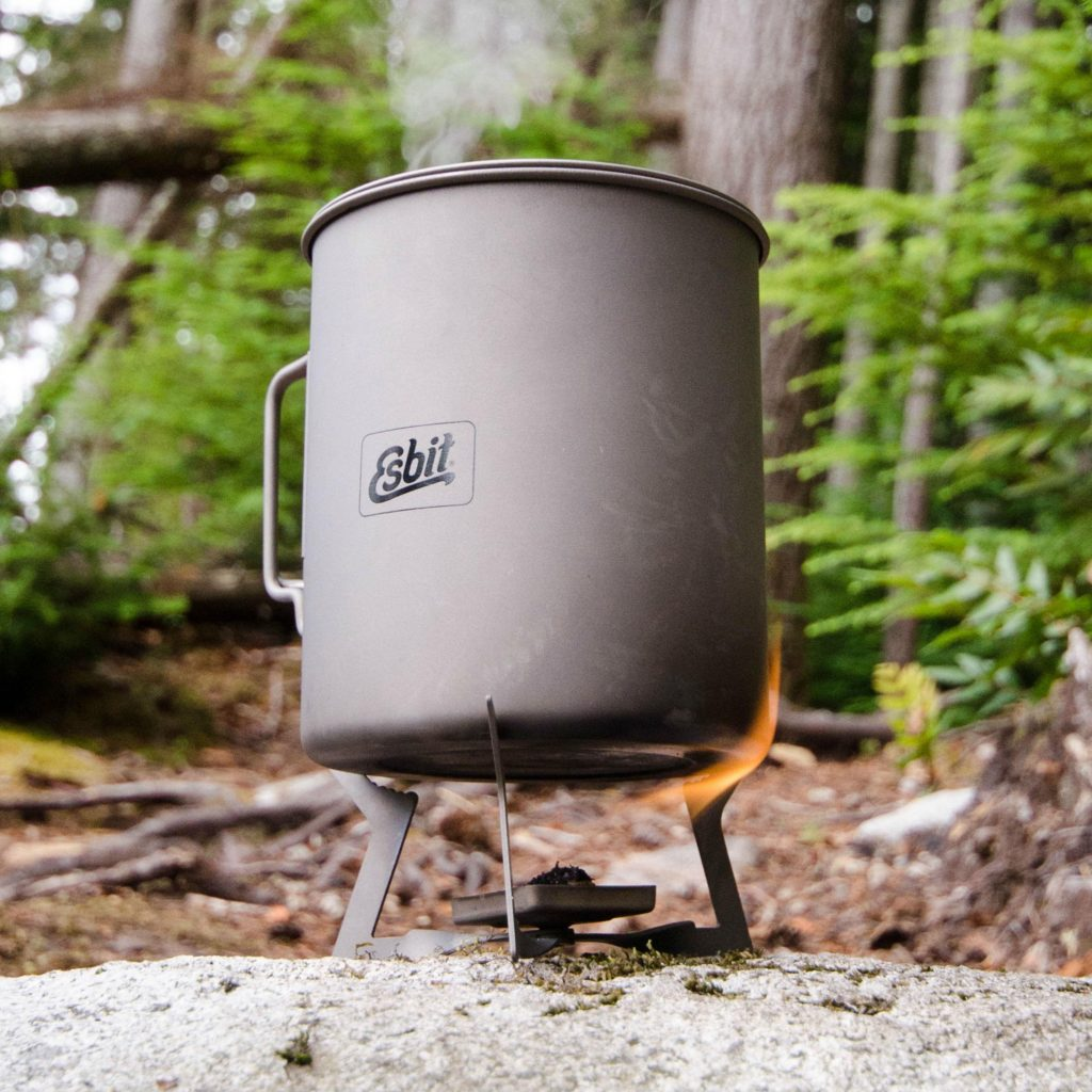 solid fuel stove for ultralight backpacking