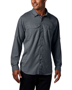 some of the best clothes for hiking - Columbia Silver Ridge Shirt