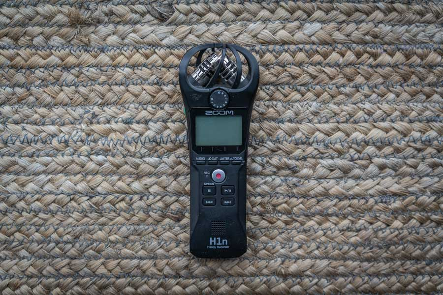 zoom h1n a great lightweight audio recorder