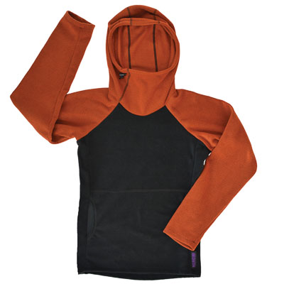 Melanzana Hoodie for long distance hiking